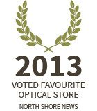 Lynn Valley Optometry: 2013 favourite optical store finalist