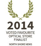 Lynn Valley Optometry: 2014 favourite optical store finalist