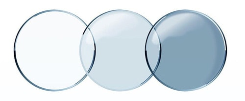 3 kinds of contact lenses