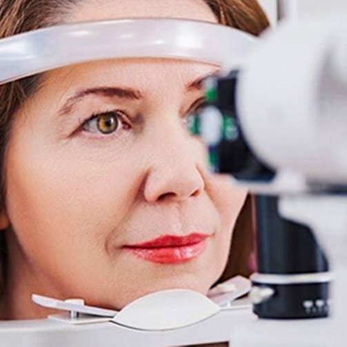 Regular eye examination can prevent vision loss.