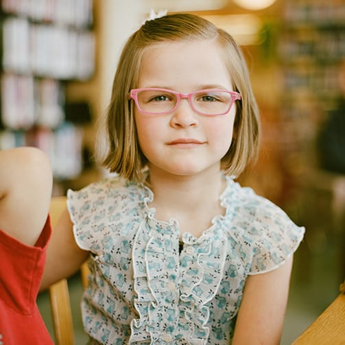 Lynn Valley Optometry is experienced with engaging kids.