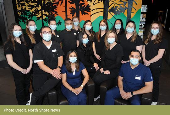 Lynn Valley Optometry team members
