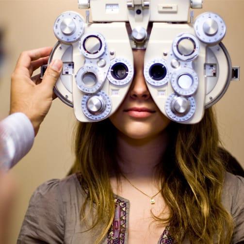 Myopia Exam